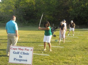 Cape May Par 3 Driving Range Golf Camps Ladies Clinics and Private Golf Lessons
